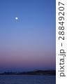 地球影に沈む東京ゲートブリッジ 28849207
