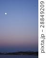 地球影に沈む東京ゲートブリッジ 28849209
