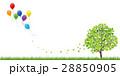 若葉 新緑 樹木のイラスト 28850905