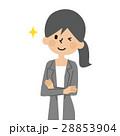 働く女性【シンプルキャラ・シリーズ】 28853904