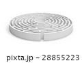 迷路 円 丸のイラスト 28855223