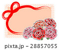カーネーションカード(オレンジ)1 28857055