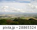 秋田県大仙市 大平山から見た大曲市街(2004年10月撮影) 28865324