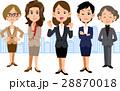 女性 ビジネス チーム 28870018