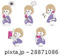 スマホ 携帯 スマートフォンのイラスト 28871086
