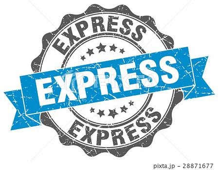 express stamp. sign. seal 28871677