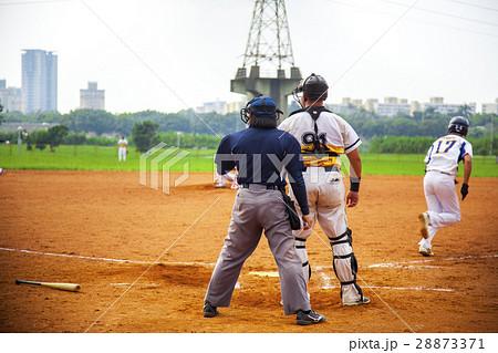 野球 ベースボール 白球 28873371