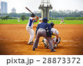 野球 ベースボール 白球の写真 28873372