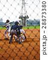 野球 ベースボール 白球の写真 28873380