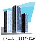 都市 高層ビル群 超高層建築のイラスト 28874819
