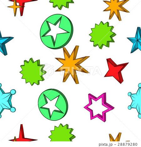 Kind of star pattern, cartoon style 28879280