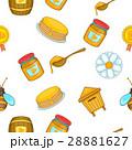 はちみつ 蜂蜜 蜜のイラスト 28881627