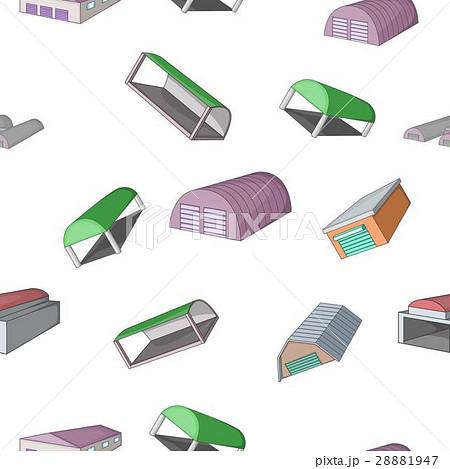 Storage pattern, cartoon styleのイラスト素材 [28881947] - PIXTA