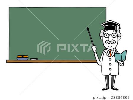 博士:黒板で説明 28884802