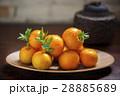オレンジ色 オレンジ 橙の写真 28885689