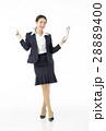 スーツ姿 女性 ビジネスウーマンの写真 28889400