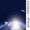 宇宙 地球 イラストのイラスト 28890343