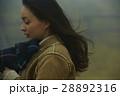 霧 寒い 女性の写真 28892316