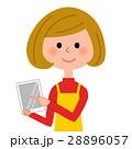 人物 主婦 女性のイラスト 28896057