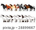 馬のバナー セット 28899667