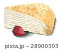 ミルクレープといちご 28900303