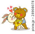 キャラクター 動物 クマのイラスト 28908078