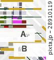 ベクター ジオメトリック 幾何学的のイラスト 28910119