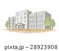 学校 校舎 小学校のイラスト 28923908