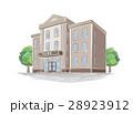 建物 銀行 外観のイラスト 28923912