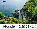 万座毛 沖縄 断崖の写真 28925418