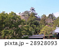 高知城歴史博物館からの高知城 28928093