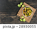 Fried brussels sprouts in bowl 28930055