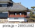 国宝 松本城の月見櫓 28931082