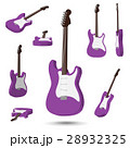3D Electric guitar 28932325