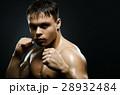 ファイター 男性 ボクシングの写真 28932484