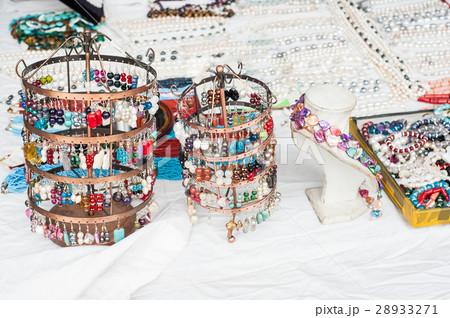 Jewelry earrings for saleの写真素材 [28933271] - PIXTA