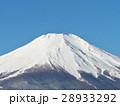 早朝の富士山(2月〜山梨県ー山中湖) 28933292
