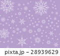 Winter card snowflake pattern 28939629