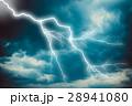 電光 稲光 雷光の写真 28941080