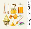 はちみつ 蜂蜜 蜜のイラスト 28941329