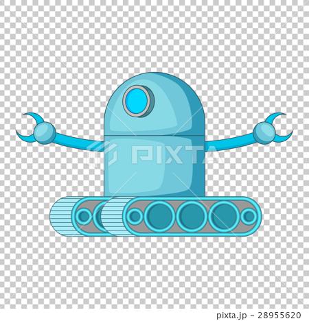 Machine robot icon, cartoon style 28955620