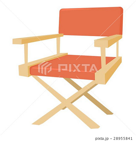Film director chair icon, cartoon styleのイラスト素材 [28955841] - PIXTA
