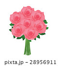 バラ 花 植物のイラスト 28956911