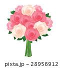 バラ 花 植物のイラスト 28956912