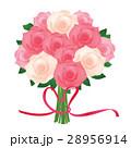 バラ 花 植物のイラスト 28956914