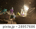 深夜に働く漁師たち 28957686