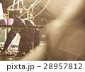 漁師 漁業 降雪の写真 28957812
