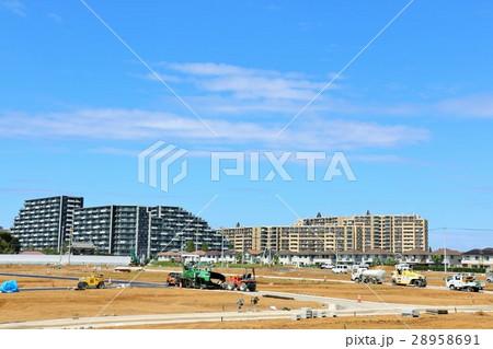 街の再開発の風景 28958691
