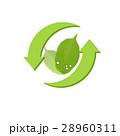 リサイクル 矢印 エコのイラスト 28960311