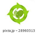リサイクル 矢印 エコのイラスト 28960313
